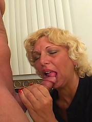 Hot Milf Mae Victoria Starves For Cock 1