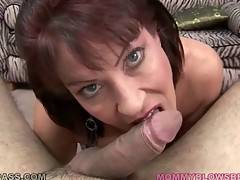 Big boobed lady Vanessa Videl wraps her lips around juicy dick.